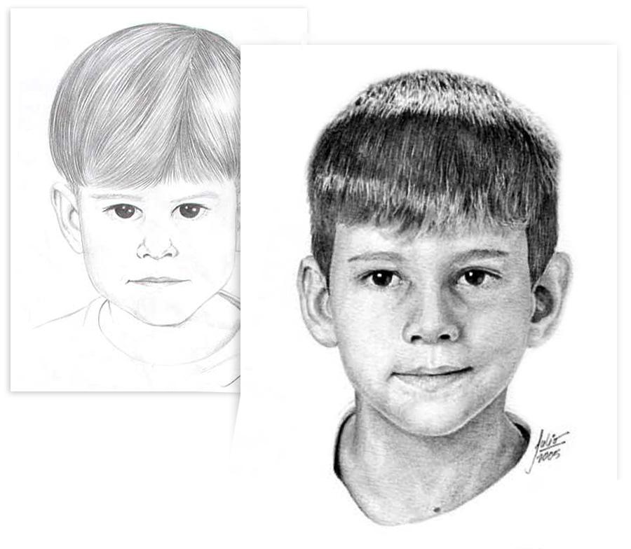 Desenho antes e depois do curso